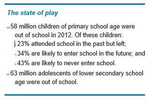 58 million children out of school